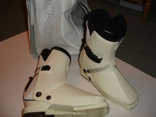 white salomon sx 50 ski boots size 325mm time left