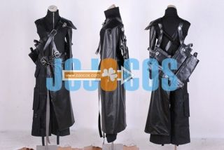 Final Fantasy VII◆Cloud Strife Pleather outfit& Gloves Gunbags