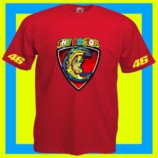 MOTO GP VALENTINO ROSSI MOON 46 T SHIRT ALL SIZES COLOURS AVAILABLE