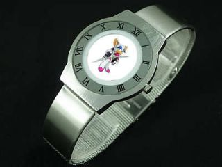 rouge the bat stainless steel slim watch cool new nr