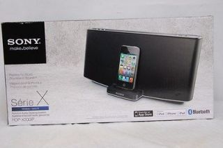 NEW SONY RDP X200ip PERSONAL AUDIO DOCKING SYSTEM FOR IPOD, IPHONE