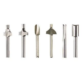 NEW DREMEL ROUTER BIT 6 SET # 692 FOR ALL ROTARY TOOLS