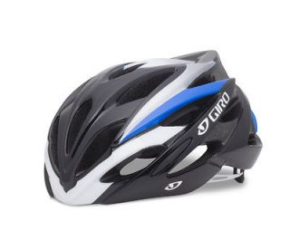 giro savant blue white road bike helmet size medium time