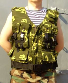 russian army spetsnaz assault vest berezka camo pattern from ukraine