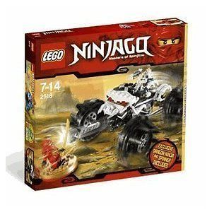 LEGO Ninjago NUCKALS ATV SET RED KAI DX NINJA MINIFIG 2518 NeW!