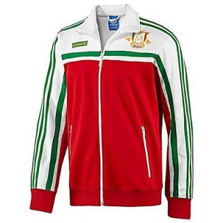nwt~Adidas MEXICO firebird Track suit sweat Top shirt Jacket