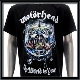 sz xl motorhead t shirt vtg retro rock metal biker