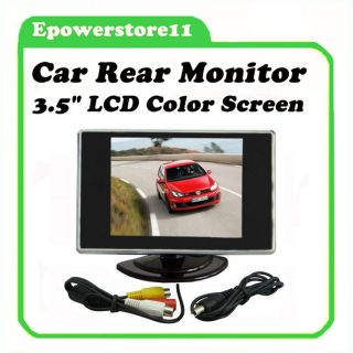 Car Monitor Rearview Monitor/DVD Player/Camera TFT LCD Color Screen