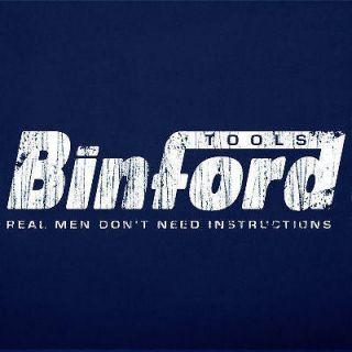 Binford Tools T shirt Funny Home Improvement Tool Time Humor Tee Shirt