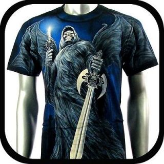 Rock Eagle T Shirt Limited Edition Punk E1 Sz XL XXL Biker Skull