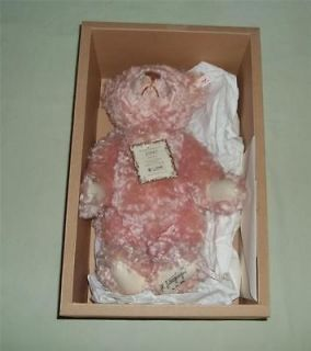 british collectors 1997 teddy bear rose 38 ean 654480 limited 3000