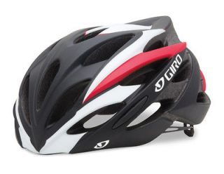 giro savant matte black red road bike helmet size medium