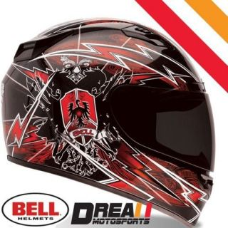 BELL VORTEX SIEGE RED FULL FACE MOTORCYCLE HELMET DOT SNELL  XLARGE XL