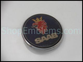 98 00 Saab 9 5 Hood Ornament Emblem Badge Logo Nameplate Bonnet 99 2