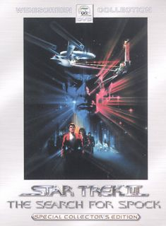 Star Trek III The Search for Spock DVD, 2002, 2 Disc Set, Special