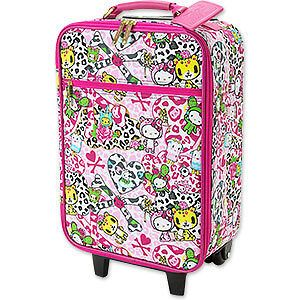 hello kitty x tokidoki travel bag suitcase simone legno from