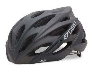 giro savant matte black road bike helmet size medium time