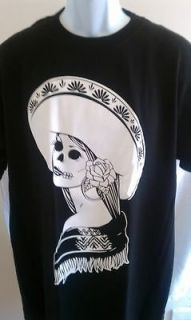 day of the dead t shirt dia de los muertos sm xl sku7