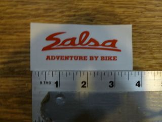 salsa small adventure by bike sticker decal