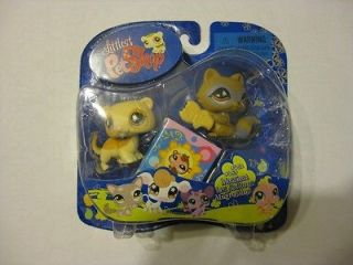 Retired Littlest Pet Shop #652 & #653 Messiest Racoon & Weasel New