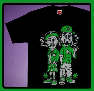 Cajmear Wiz Snoop Dogg shirt Khalifa the stussy hundreds mishka Rap