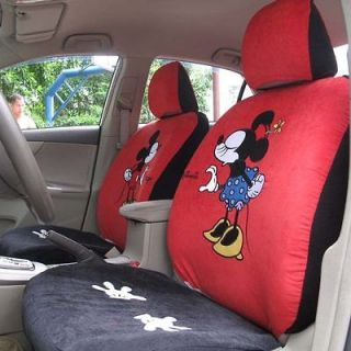 new mickey minnie mouse kiss car seat covers red from