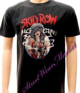 skid row american heavy metal rock men t shirt sz l