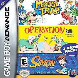 Mouse Trap Operation Simon Nintendo Game Boy Advance, 2005