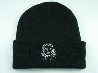 Hat 324 Beanie Ski Marilyn Monroe Lady Pretty Cap Hat Pop High End