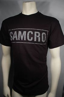 SONS OF ANARCHY BANNER AS JAX WEARS ON SHOW SOA SAMCRO T TEE SHIRT