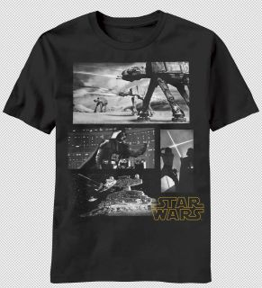 NEW Star Wars Darth Vader Space Battles Luke Skywalker Vintage Look T