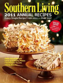 Southern Living 2011 Annual Recipes Every Single Recipe from 2011