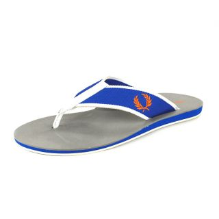 NEW FRED PERRY Mens Sandals Flip Flop Locarno SZ S/M/L/XL UK Blue