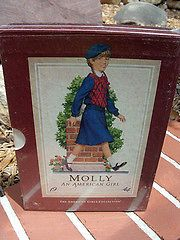 Girl Molly Doll Paperback w/ Slipcover Set of 6 Books Boxed Set