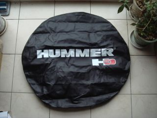 Spare Wheel Tire Cover HUMMER H3 265/75R16, P285/70 R16 Large Size