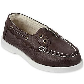 Arizona Lil Tim Toddler Boys Slip On Boat Shoes DARK BROWN MULTIPLE