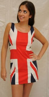 Union Jack Dress Spice Girls Dress Queens Golden Jubilee Olympics