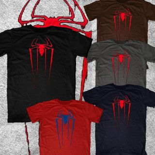 Amazing Spiderman Spider Man new logo Marvel vintage look & feel tee