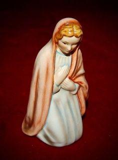 GOEBEL VERGIN MARY FIGURINE PART OF NATIVITY SET ADORABLE PIECE