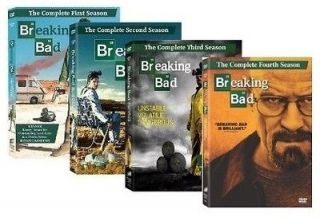Breaking Bad The Complete Season 1 4 DVD Set Seasons 1 2 3 4