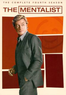 The Mentalist The Complete Fourth Season DVD, 2012, 5 Disc Set
