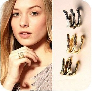 New Hot Cool Rock Punk Gothic Dragon Eagle Four Claw  Finger Ring