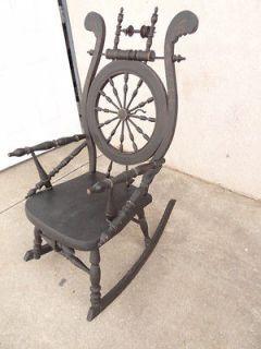 Antique George Hunzinger Platform Rocker Rocking Chair Old