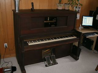marshall wendell upright player piano working must see time left
