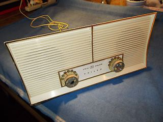 Philco AM radio, twin speaker, NICE original, from private collection