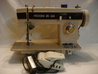 morse sewing machine model 1550a ec precision zig zag time