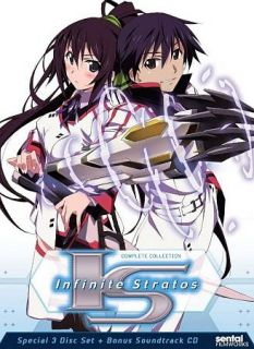 IS Infinite Stratos   Complete Collection DVD, 2012, 4 Disc Set