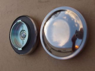 HOT ROD RAT ROD STREET ROD CUSTOM STAINLESS STEEL GAS CAP 1 7/8 X 2 7