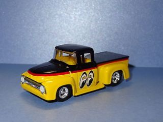 MOONEYES 1956 FORD F 100 STEPSIDE STREET ROD 1/64 LIMITED EDITION REAL