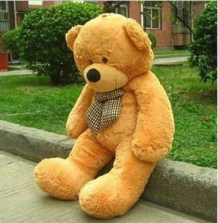 "47"" Giant Huge Cuddly Bear Toy Doll Soft Plush Stuffed Animals XMAS"